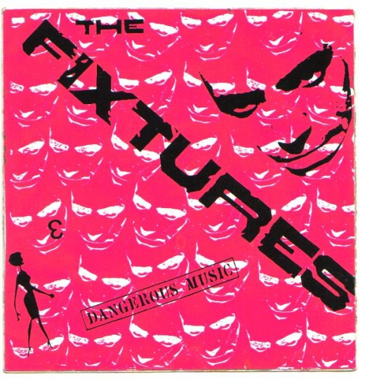 California Punk band and my friends The Fixtures. I screen printed these stickers for 'em!