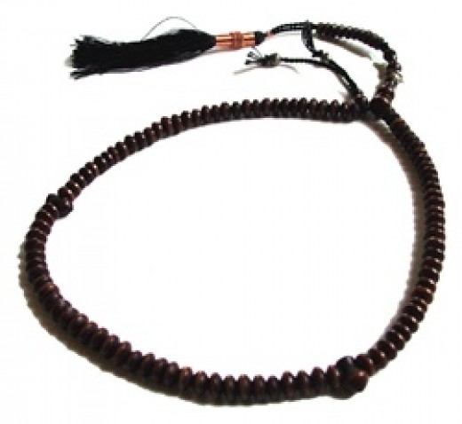 Baraka, Islamic Prayer beads