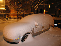 A Snow-Covered Car (Photo from Flickr)