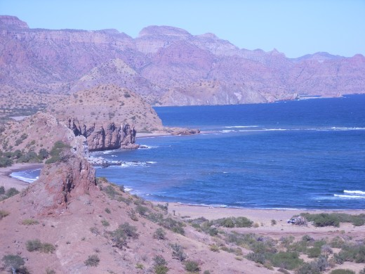 The Sea of Cortez offers many secluded spots for camping