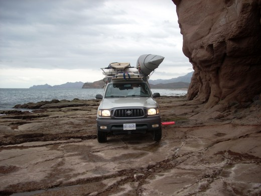 Bad roads lead to amazing camping.