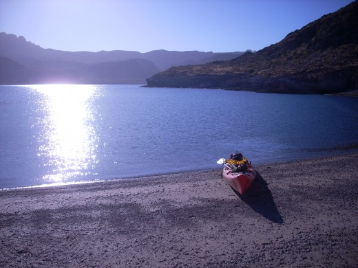 You can find uncrowded beaches everywhere-kayak not required.