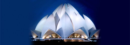 The Lotus Temple, Delhi