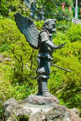 A Tengu guards Hansobo - image from wikipedia