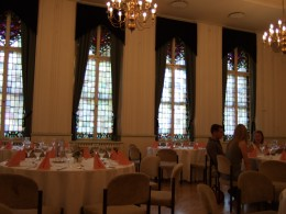 The dining room of the Schwarzer Br