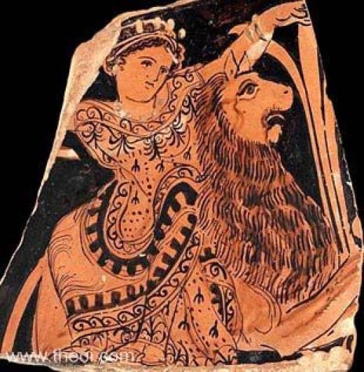 Greek Mother Goddess Rhea