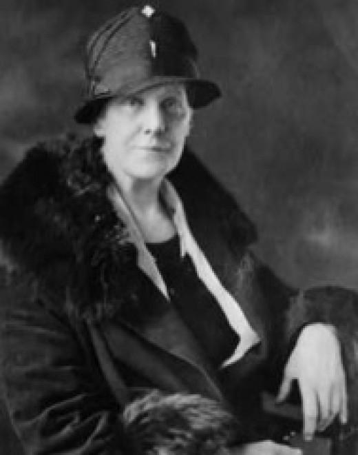 Anna Marie Jarvis (May 1, 1864 -November 24, 1948)