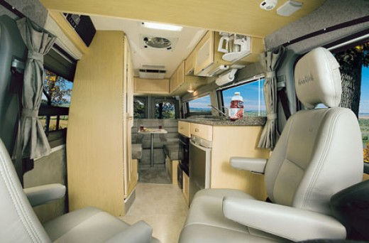 Sprinter Chassis Interior