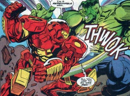 iron man vs. the hulk