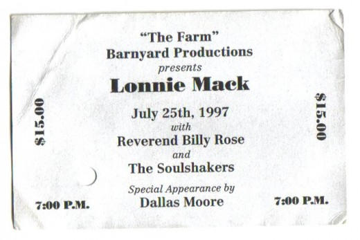 Indiana guitar legend Lonnie Mack.