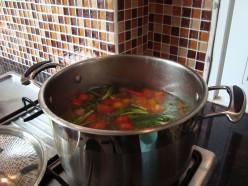 Spicy Thai Pork Rib Soup - Tom Yum Gadook Moo