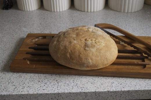 Rustic Sourdough Bread