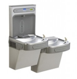 Drinking Fountain Retrofit for Refilling Water Bottles | Refill Station | New Invention - EZ H20