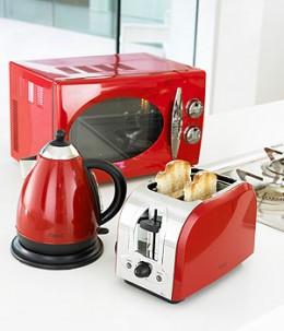 Wonderful Red Kitchen Appliances