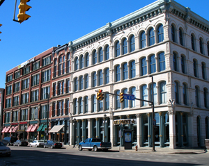 Cleveland's Warehouse District
