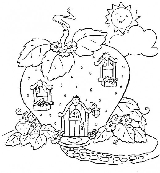 Strawberry Shortcake Coloring Pages 2010. Here#39;s Strawberry Shortcake