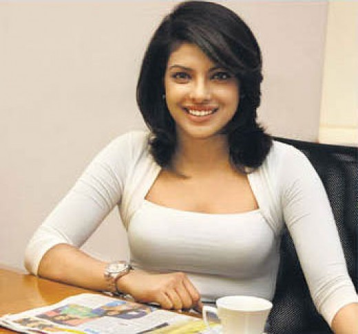 Priyanka Chopra @ DNA office