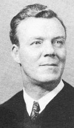 US Senate Chaplain, Reverend Peter Marshall (1902 - 1949).