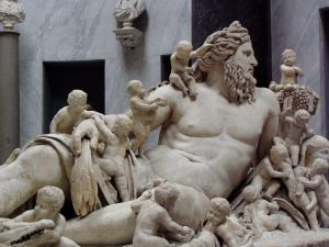 Zeus and Offspring at the Vatican Museum