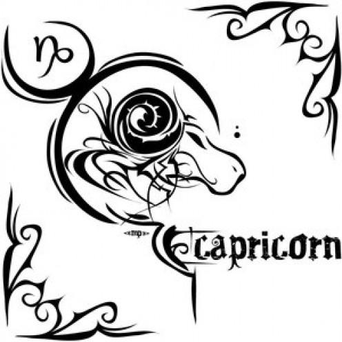 Capricorn Zodiac Tattoos