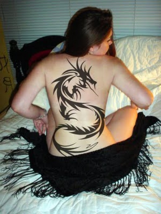 tribal dragons tattoos. tribal dragon tattoo,