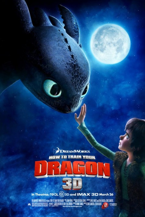 3D IMAX experience: How to train your dragon