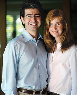 Pierre & Pam Omidyar