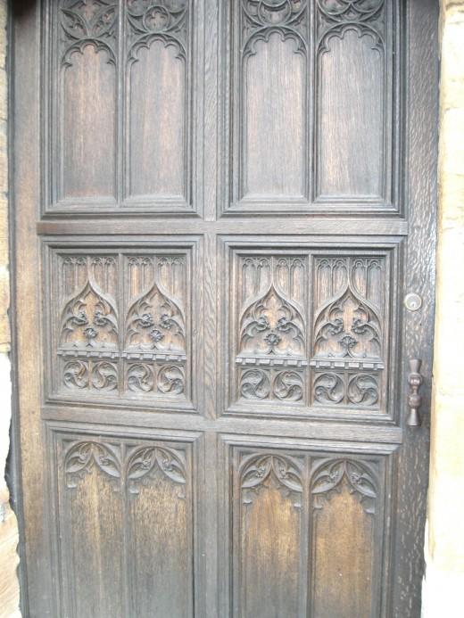 door of St. Michaels