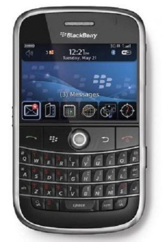 BlackBerry Bold 9000 Unlocked Phone with 2 MP