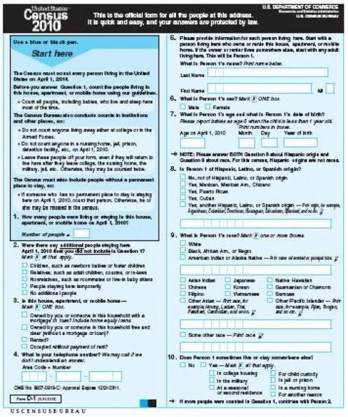 2010 U.S. Federal Census