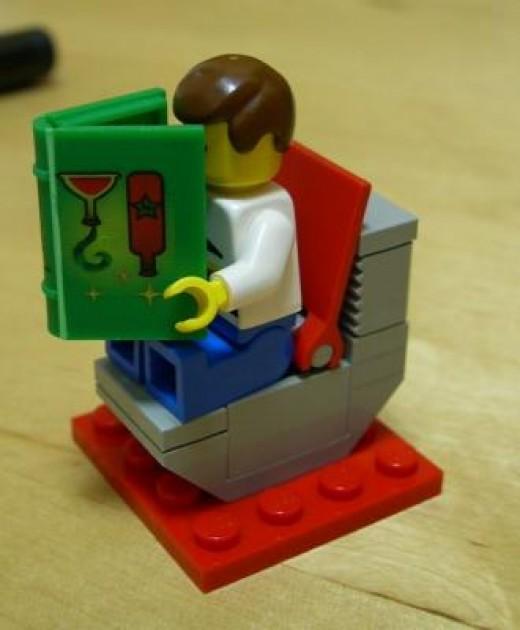 Lego Toilet
