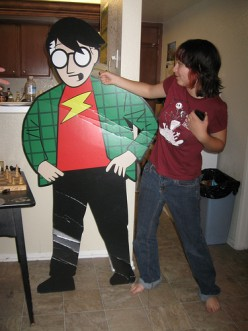 Life Size Cardboard Cutouts - Can You Make Your Own?
