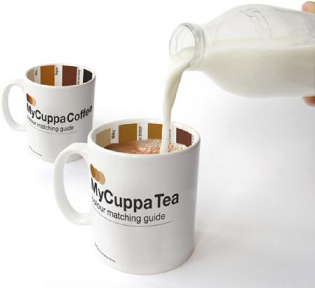 What is the best way of removing stains from tea or coffee mugs?