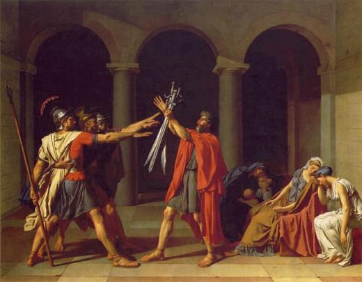 By Jacques Louis David