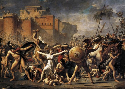 By Jacques Louis David