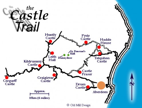 Castle Trail Map
