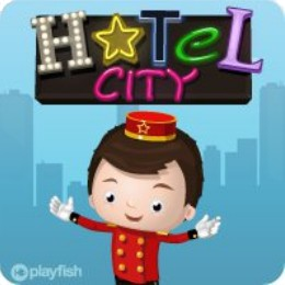 Facebook's newest game, Hotel City