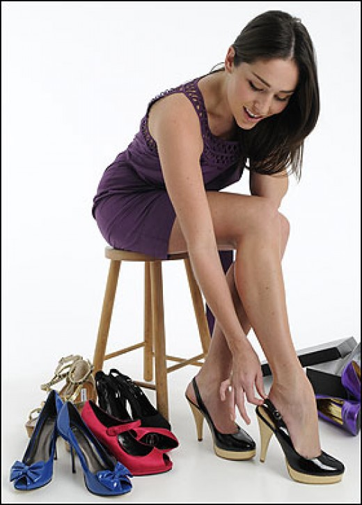 Collecting High Heeled Shoes