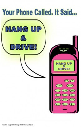 Teach students to avoid cell phone and text use while driving