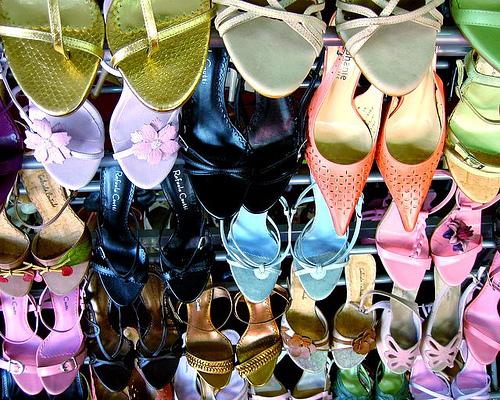 Imelda Marcos Extensive Shoe Collection