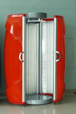 A Tanning Sunbed