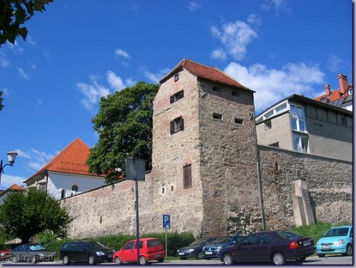 Jewish Tower on Jewish Street