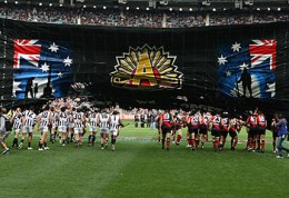 The Anzac Day rivals enter the arena!