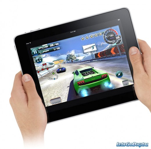 Play speeding car racing games on ipad
