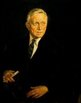 "Unites states Supreme Court Associate Justice William O. Douglas, who coined the phrase ""Flash of Genius"" in his opinion 14 U.S. 84 (1941) Image Credit: Wikipedia"
