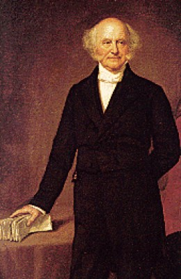 President Martin Van Buren--A fence-sitter at first, he later came out against annexation and lost his chance for a comeback.