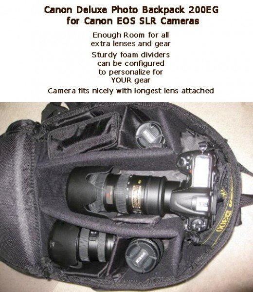 Canon Camera Bag for DSLR cameras