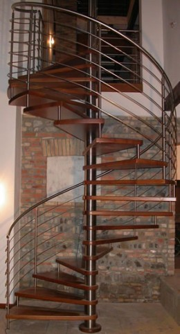 Modern, Galaxy spiral staircase from the-wooden-hill-company.co.uk