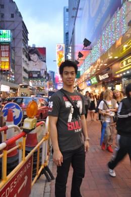 Crowded everywhere in Mongkok!