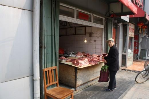 Meet the butcher.